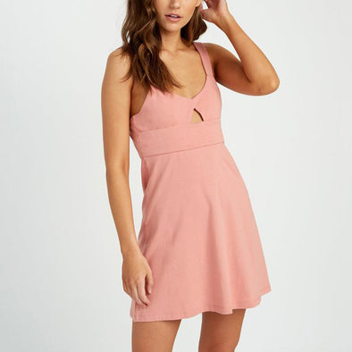 All Talk Pink Dress