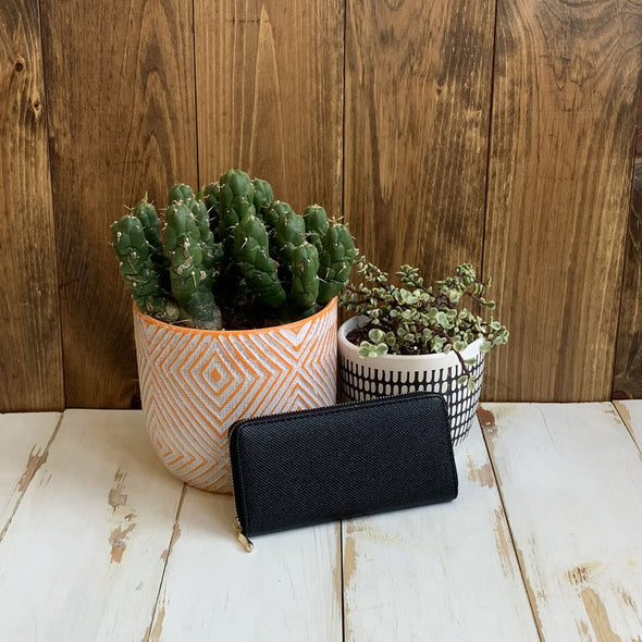 Allynn Black Wallet