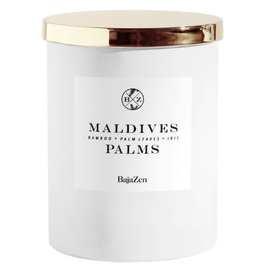 Maldives Palms Candle