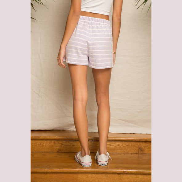 French Stripe Shorts