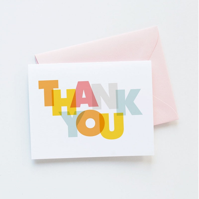 Modern Thank You Card Fells Point Surf Co