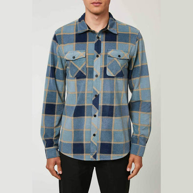Glacier Plaid Fleece