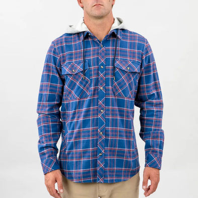 Jalama Hooded Flannel