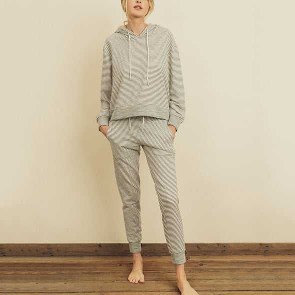 Jane Stripe Sweats
