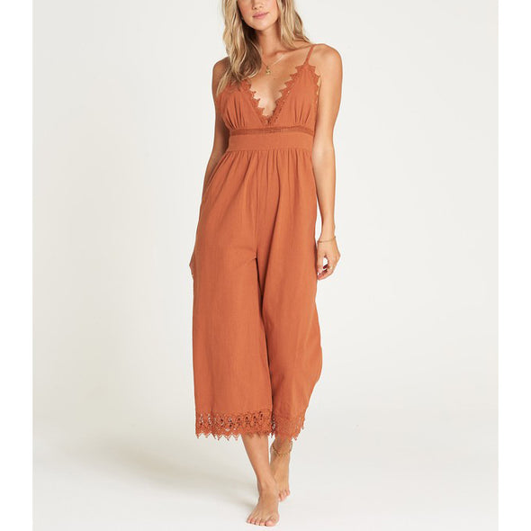 Lace and Lies Jumpsuit
