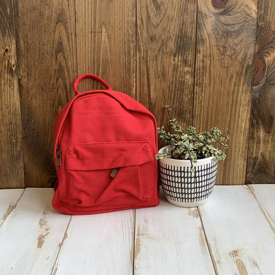 Micro Canvas Backpack