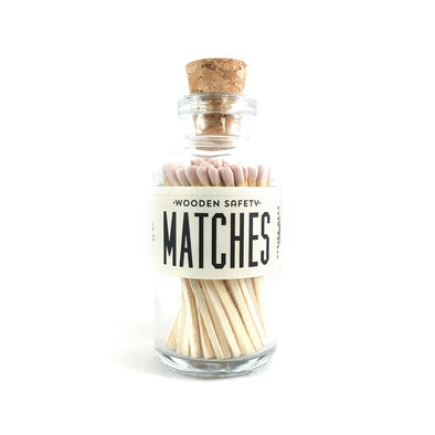 Mini Matches Light Pink