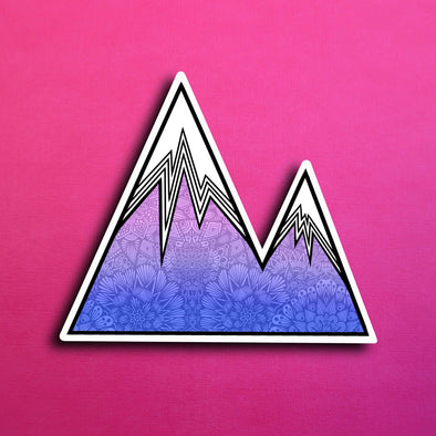 Zen Mountain Sticker