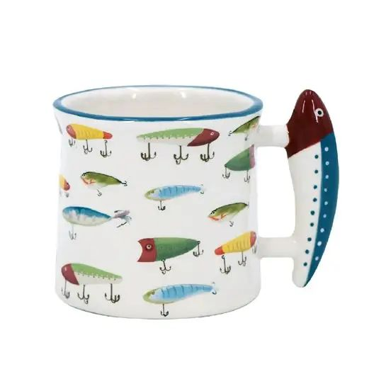 Fishing Lure Camp Mug
