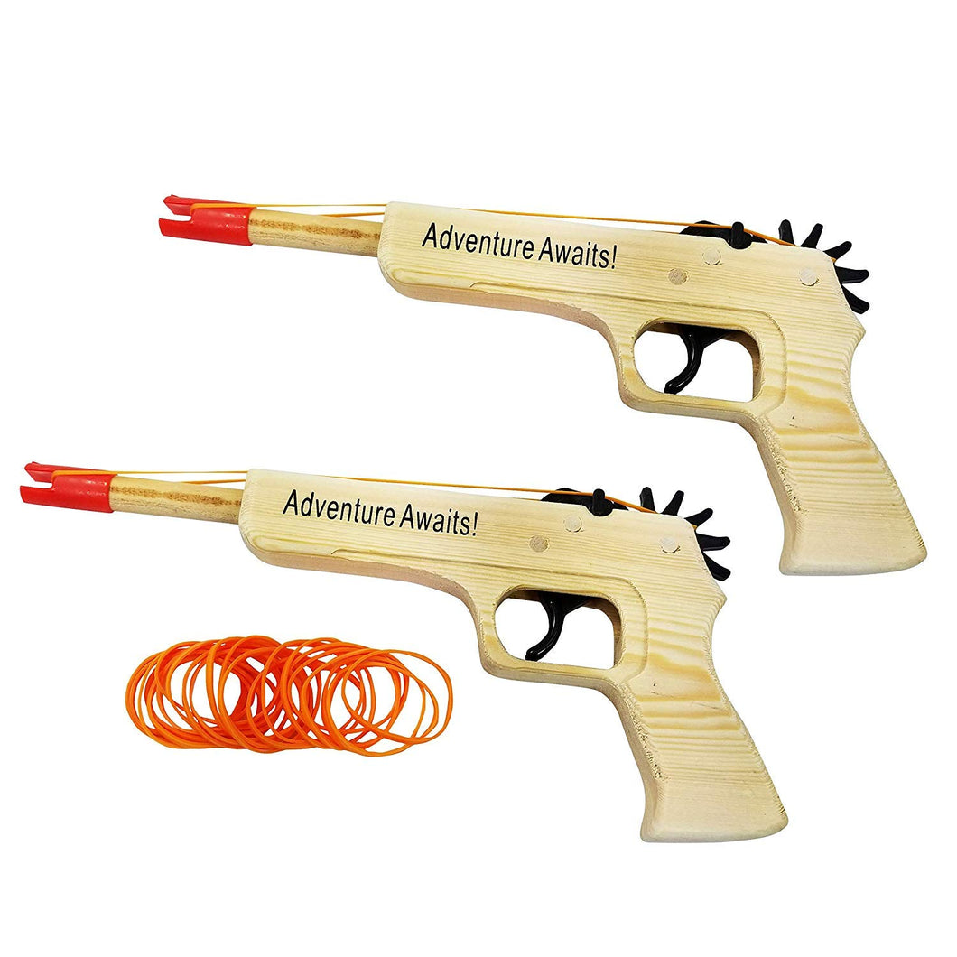 Rubber Band Guns 2-Pack