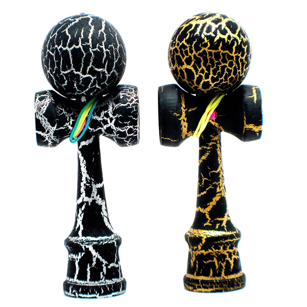 Mini Crackled Kendamas