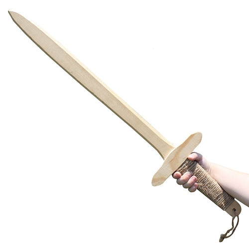 Wooden Swords With Twine Wrapped Handle 2-Pack