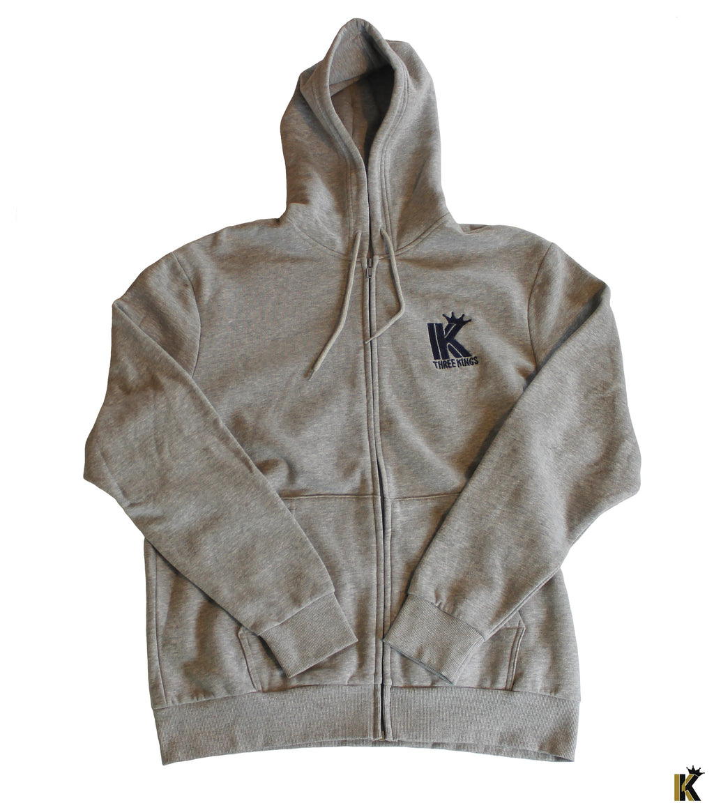 Three Kings Gray Hoodie