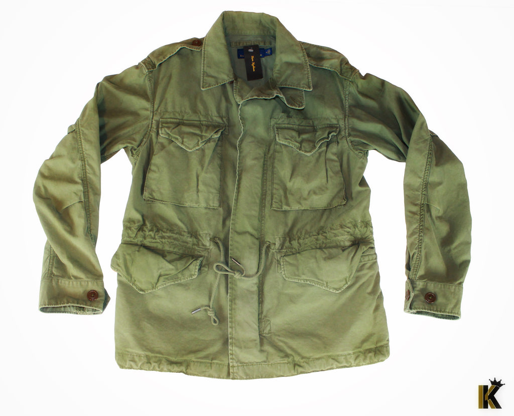 Three Kings Green custom Army Jacket