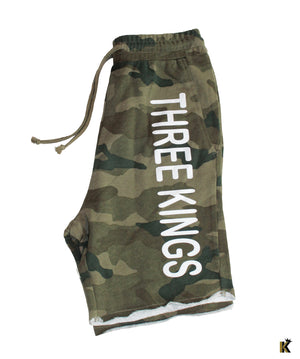 Three Kings Camo Shorts