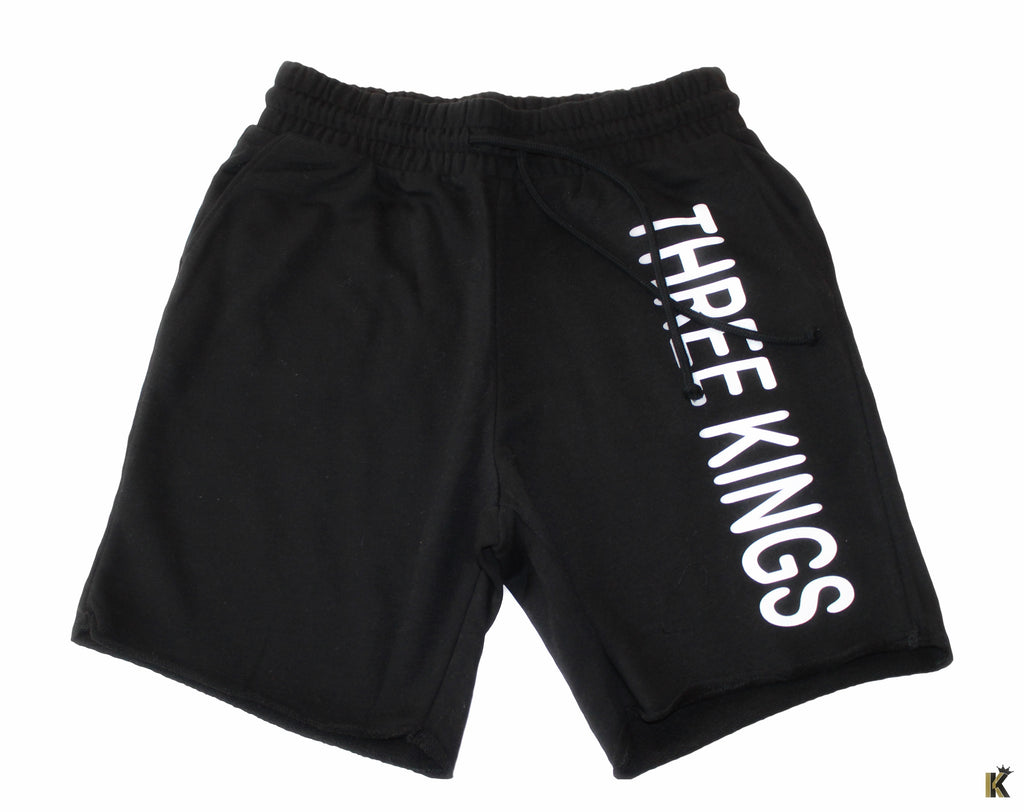 Three Kings Black Shorts