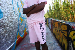 Three Kings Pink Shorts