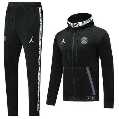 Paris Saint-Germain F.C.  PSG Jordan 2019-20 Replica TRAINING TRACKSUIT Hat pollover Full Zip hooded hoodies Futebol Casual TOPS FÚTBOL Survetement CALCIO SOCCER FUSSBALL Sweatshirt Jogging Pants Sportswear Set BNWT