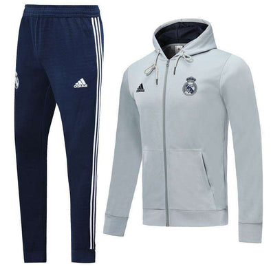 Real Madrid C.F. Football club adidas Los Blancos 2019-20 Replica TRAINING TRACKSUIT Hat pollover Full Zip hooded hoodies Futebol Casual TOPS FÚTBOL Survetement CALCIO SOCCER FUSSBALL Sweatshirt Jogging Pants Sportswear Set BNWT