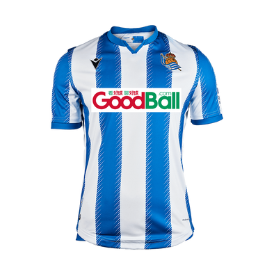 Real Sociedad Football club Real Sociedad Football club Home Macron 2019-20 FÚTBOL SOCCER KIT CALCIO SHIRT Futebol JERSEY FUSSBALL CAMISA CAMISETA TRIKOT MAILLOT MAGLIA BNWT OUT OF STOCK 🆘 OUT OF STOCK🆘