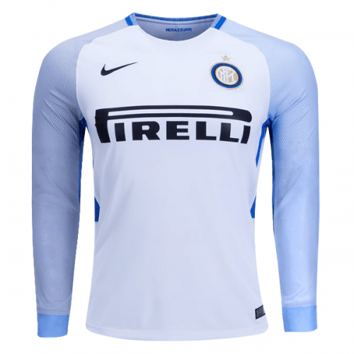 quality design e6bf3 2f953 Inter Milan Nike Away Long Sleeve 2017 - 18 FÚTBOL SOCCER KIT CALCIO SHIRT  JERSEY FUSSBALL CAMISA TRIKOT MAILLOT MAGLIA BNWT