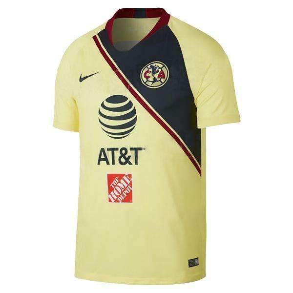 info for 03d58 f5bf9 Club America HOME NEW NIKE 2018-2019 SOCCER FOOTBALL JERSEY BNWT -