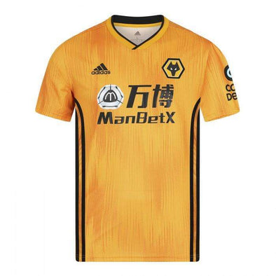 Wolverhampton Wanderers F.C. Football club Home  Wolves adidas 2019-20 FÚTBOL SOCCER KIT CALCIO SHIRT JERSEY FUSSBALL CAMISA TRIKOT MAILLOT MAGLIA BNWT