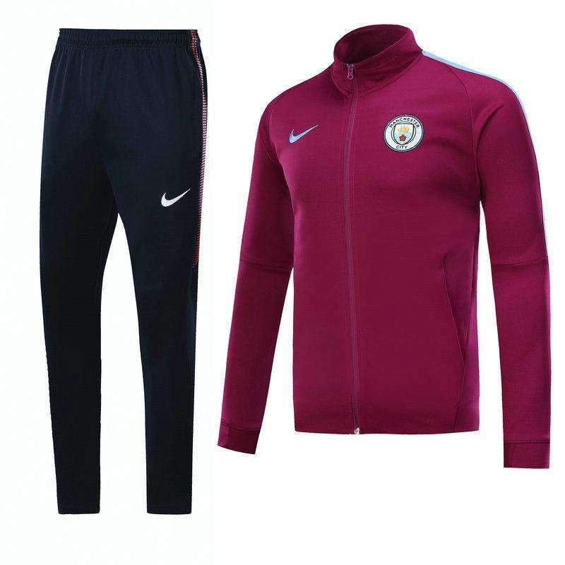 wholesale dealer e77f1 4ecf0 Manchester City F.C. Football club Nike Men's Pre-Match Replica TRAINING  Zip Casual TOPS TRACKSUIT FÚTBOL CALCIO SOCCER FUSSBALL Jogging Tracksuit  Zip ...