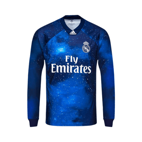 watch 602e0 3f19c Real Madrid C.F. Football club Long Sleeve 4TH Kit EA SPORTS x adidas  Limited Edition 2018-19 FÚTBOL SOCCER CALCIO SHIRT JERSEY FUSSBALL CAMISA  TRIKOT ...