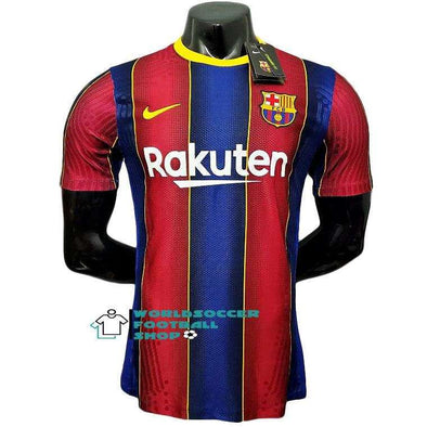 FC Barcelona Football club Barça Home 2020-21 Player version Player Issue ACTV Fit Jogo FÚTBOL SOCCER KIT CALCIO SHIRT Futebol JERSEY FUSSBALL CAMISA CAMISETA TRIKOT MAILLOT MAGLIA BNWT