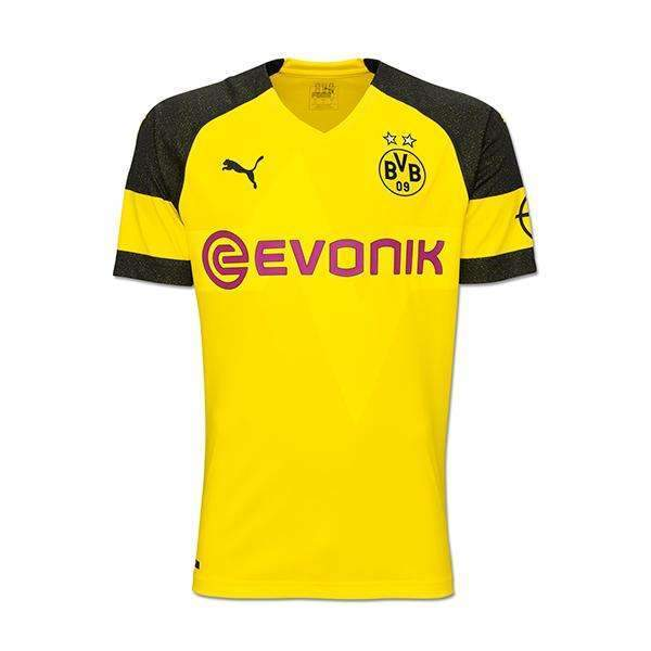 on sale 20a6a 40e7c Borussia Dortmund 18 / 19 Home Fußball SHIRT SOCCER FOOTBALL JERSEY BNWT -
