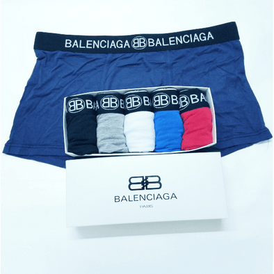 MEN'S Balenciaga Underpants Multi-Color TRUNK SHORTS UNDERWEAR Fit 100% Cotton Boxer Briefs 10 IN A PACK biancheria intima Unterwäsche la ropa interior BNWT