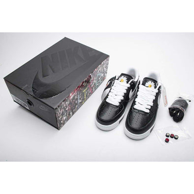 PEACEMINUSONE X Nike Air Force 1 Low Black White AQ3692-001 Fashion Basketball Shoes High Top Sports Sneakers Athletic Leisure Running Schuhe Zapatos scarpe chaussures Casual BNWT