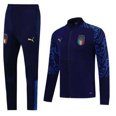 Italy national football team Puma azzurri 2020 Replica TRAINING Tracksuit Full Zip Sweatshirt Futebol Casual TOPS FÚTBOL Survetement CALCIO SOCCER FUSSBALL Jogging Pants Sportswear Set BNWT