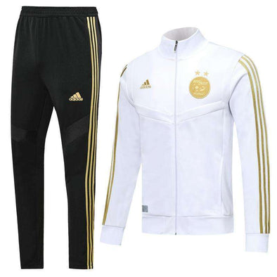 Algeria national football team adidas Desert Foxes Les Fennecs 2019-20 Replica TRAINING Futebol Casual TOPS TRACKSUIT FÚTBOL Survetement CALCIO SOCCER FUSSBALL Tracksuit Full Zip Sweatshirt Jogging Pants Sportswear Set BNWT - World Soccer Football Shop
