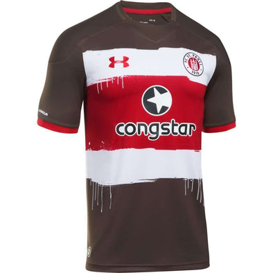 FC St. Pauli Football club Home Kiezkicker Under Armour Authentic Original 2017-18 FÚTBOL SOCCER KIT CALCIO SHIRT JERSEY FUSSBALL CAMISA Futebol CAMISETA TRIKOT MAILLOT MAGLIA BNWT