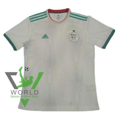 Algeria national football team Home Adidas White 2018-2019 Adidas FÚTBOL SOCCER KIT CALCIO SHIRT JERSEY FUSSBALL CAMISA TRIKOT MAILLOT MAGLIA BNWT - World Soccer Football Shop