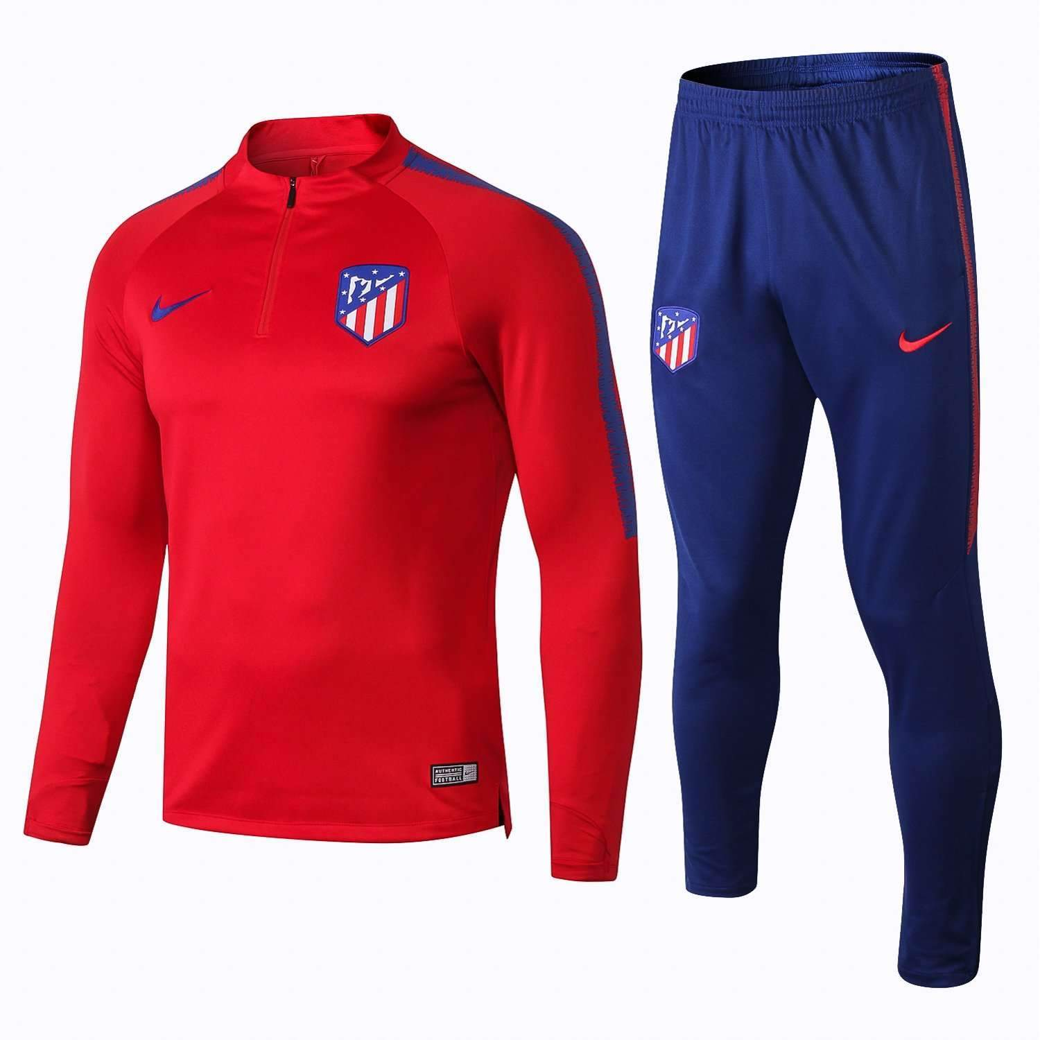 100% authentic bb8fd 61e3f Atlético Madrid Football club Nike 2018 - 19 Replica TRAINING Casual TOPS  TRACKSUIT FÚTBOL CALCIO SOCCER FUSSBALL BNWT Men's Jogging Tracksuit Zip ...