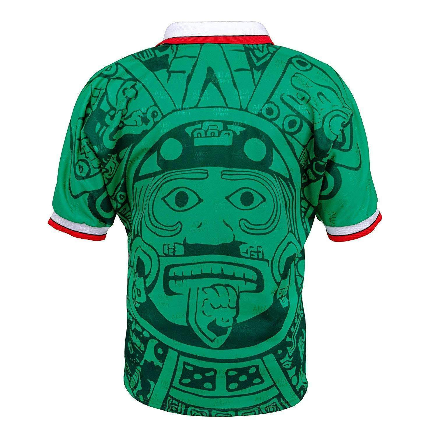 Mexico 1998 Home Fussball Retro Soccer Jersey Football Shirt