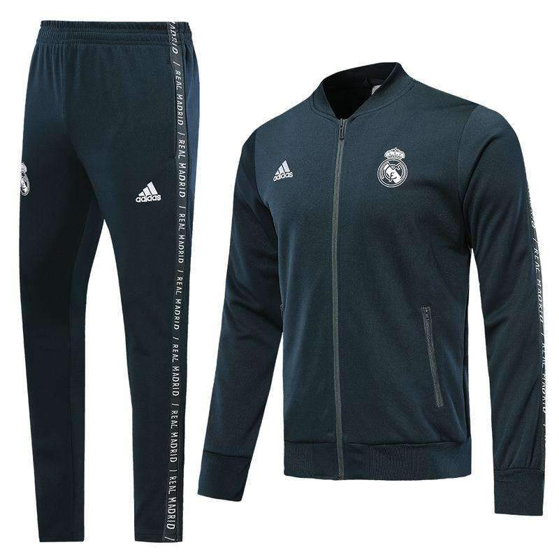undefeated x nice shoes new style Real Madrid C.F. Football club Los Blancos Adidas 2018-19 Replica TRAINING  Casual TOPS TRACKSUIT Pullover Hoodies FÚTBOL CALCIO SOCCER FUSSBALL ...