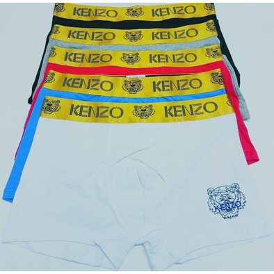 MEN'S Kenzo Underpants Multi-Color TRUNK SHORTS UNDERWEAR Fit 100% Cotton Boxer Briefs 10 IN A PACK biancheria intima Unterwäsche la ropa interior BNWT