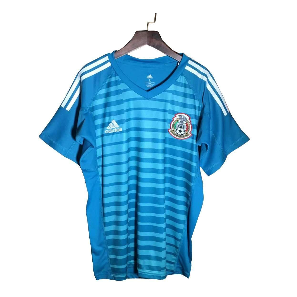 pretty nice a885a 24475 Mexico Adidas Goalkeeper Jersey Blue/White national football team 2018 FIFA  World Cup Yellow Goalkeeper 2018-2019 FÚTBOL SOCCER KIT CALCIO SHIRT ...