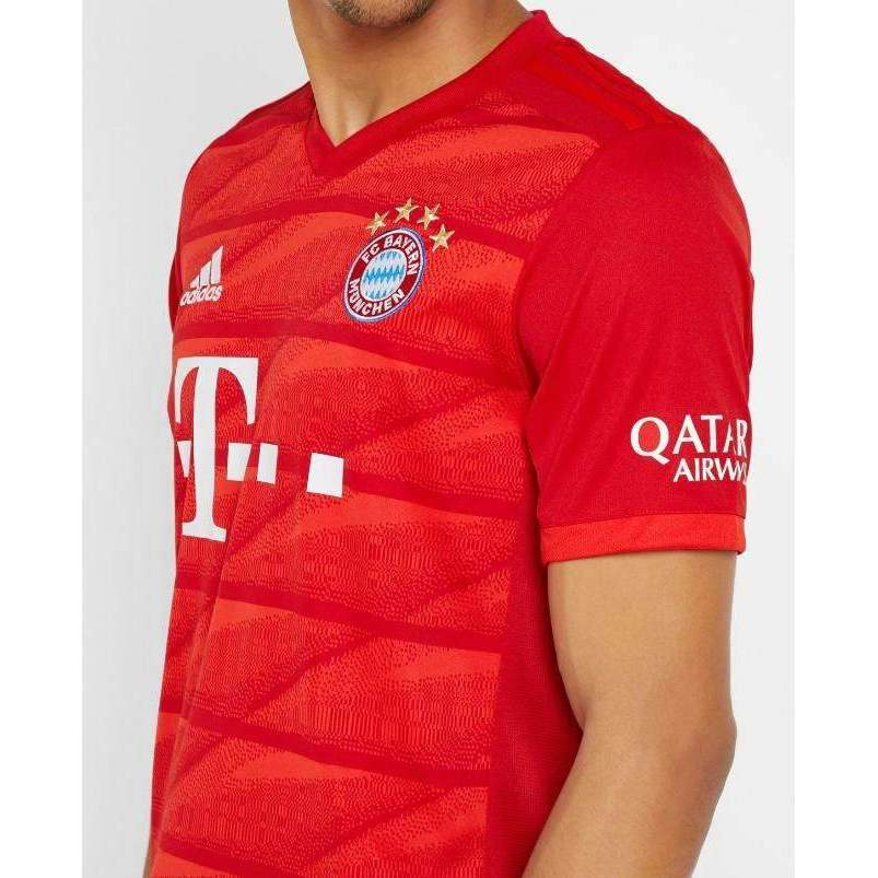 new styles 11728 7183d FC Bayern Munich Football team Home Adidas Die Bayern The Bavarians 2019/20  ADULT JERSEY Shirt Trikot Maglia Camiseta De Fútbol FUSSBALL SOCCER JERSEY  ...