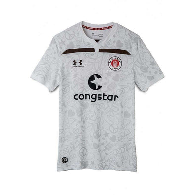 FC St. Pauli Football club Home Kiezkicker Under Armour 2019-20 Replica FÚTBOL SOCCER KIT CALCIO SHIRT JERSEY FUSSBALL CAMISA Futebol CAMISETA TRIKOT MAILLOT MAGLIA BNWT