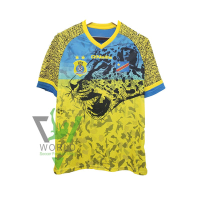 Congo national football team 2019/20 ADULT Home JERSEY Shirt Trikot Maglia Camiseta De Fútbol FUSSBALL SOCCER JERSEY BNWT