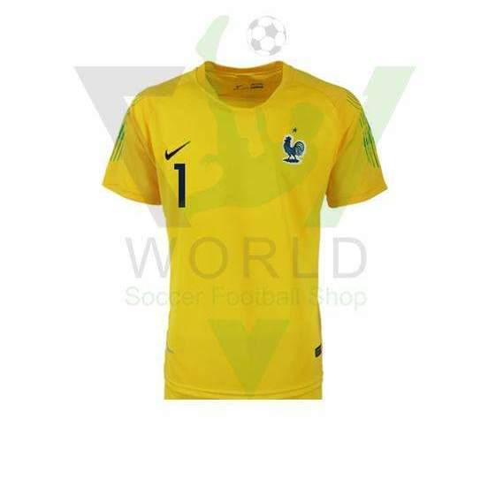 pretty nice 9f5e7 5da61 France national football team #1 LLORIS 2018 FIFA World Cup Yellow  Goalkeeper 2018-2019 FÚTBOL SOCCER KIT CALCIO SHIRT JERSEY FUSSBALL CAMISA  TRIKOT ...