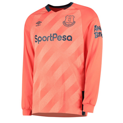 Everton F.C. Football club Umbro Away Long Sleeve 2019-20 FÚTBOL SOCCER KIT CALCIO SHIRT JERSEY FUSSBALL CAMISA Futebol CAMISETA TRIKOT MAILLOT MAGLIA BNWT