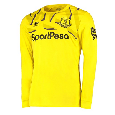 Everton F.C. Football club Umbro Goalkeeper Home Long Sleeve 2019-20 FÚTBOL SOCCER KIT CALCIO SHIRT JERSEY FUSSBALL CAMISA Futebol CAMISETA TRIKOT MAILLOT MAGLIA BNWT