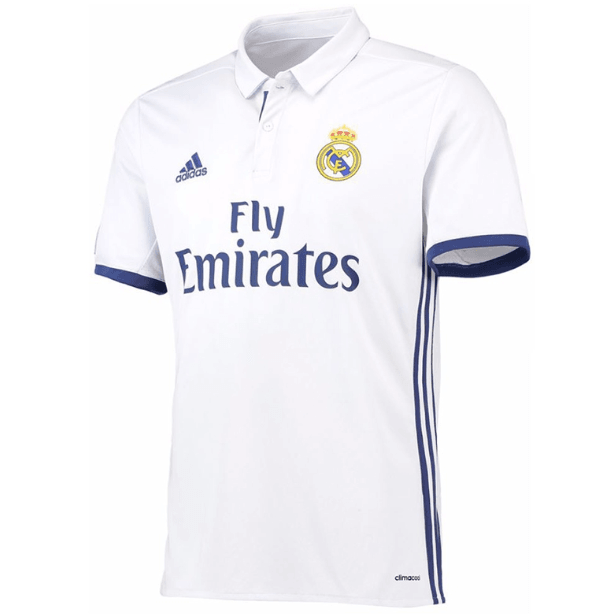 Real Madrid C F Football Club Adidas Home 2016 17 Retro Classic Vinta Www Worldsoccerfootballshop Com