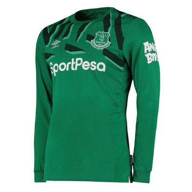 Everton F.C. Football club Umbro Goalkeeper Away Long Sleeve 2019-20 FÚTBOL SOCCER KIT CALCIO SHIRT JERSEY FUSSBALL CAMISA Futebol CAMISETA TRIKOT MAILLOT MAGLIA BNWT